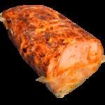 Rôti de porc cuit supérieur traditionnel traité en salaison et bruni - 1/2 pièce - 4 kg environ
